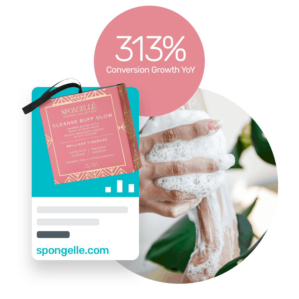 Spongelle increases revenue by 243% using Bidnamic's Targeted Search Term algorithm test : Bidnamic